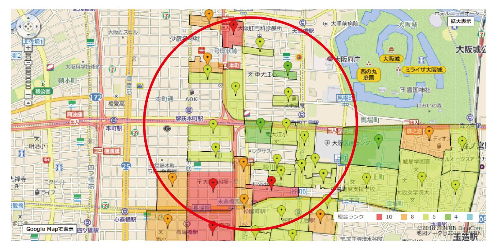 地図を使って効率的にポスティングするコツとは?